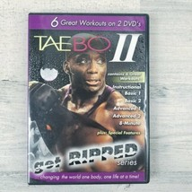 Tae Bo II Get Ripped Series 2 Disc DVD 6 Great Workouts  - $29.09