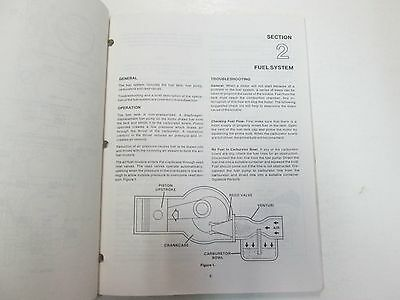 1984 1985 1986 Force Outboards 35 HP Outboard Motors Service Manual STAIN WORN** image 7