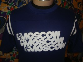 Vintage 1980 Moscow Olympics 80's T Shirt M  - $39.59