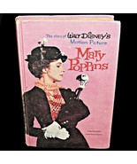 1964 Mary Poppins Book Julie Andrews Movie Walt Disney Motion Picture Ma... - $49.99