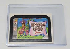 Vintage 1986 Topps Wacky Packages Brandy Land Game #70 Nmnt - $1.61