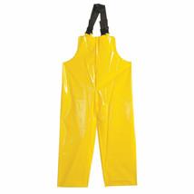 Rain Bib Overall, High Visibility Polyester, XL, Yellow Polyco 53624 12Z607 - $9.89
