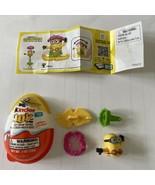 Kinder Joy Hula Skirt Minion Minions The Rise of Gru Toy 2020 SIP!! - $8.90