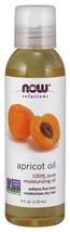 Moisturizing Oil Apricot Kernel 100% Pure 4 oz- Now Foods - $7.79