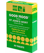 St John's Wort extract 334mg HRI 30 tablets low mood anxiety thr - $15.55
