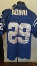 Adult Football Jersey Reebok NWT Size 50 Indianapolis Colts #29  Addai O... - €28,13 EUR