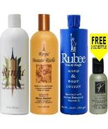 Rinju Body Hand Lotion & Beaute Reele & Rubee Beauty Magic 16oz (Set) wi... - $24.99