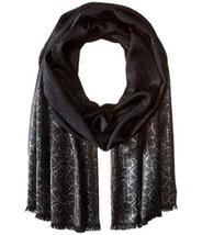 Calvin Klein Women s Metallic CK Logo Scarf Accessory, -black, One Size -   24.75 0d3dc44e7fd