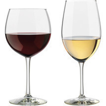Set of 12 Libbey Vineyard Assorted Red and White Wine Clear Glasses New - £28.29 GBP