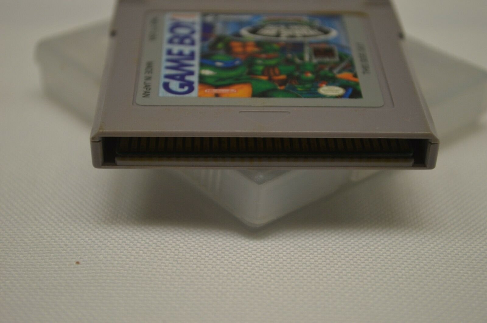 Teenage Mutant Ninja Turtles II: Back From The Sewers (Nintendo Game Boy, 1991) image 2