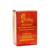 CureMedix Pureskin Lightening & Exfoliating Soap w/ Saffron & Milk 7oz/200g - $13.85
