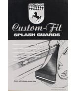 92-99 Sub Yuk Tah W/O Chrome Trim Rear Mud Flap Splash Guards W/Side Mol... - $23.55