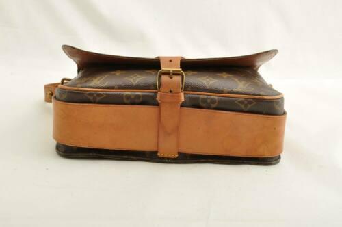 LOUIS VUITTON Monogram Cartouchiere GM Shoulder Bag M51252 LV Auth ar1643 image 9