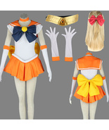 Sailor Moon Venus Minako Aino Halloween anime cosplay costume suit - $60.11