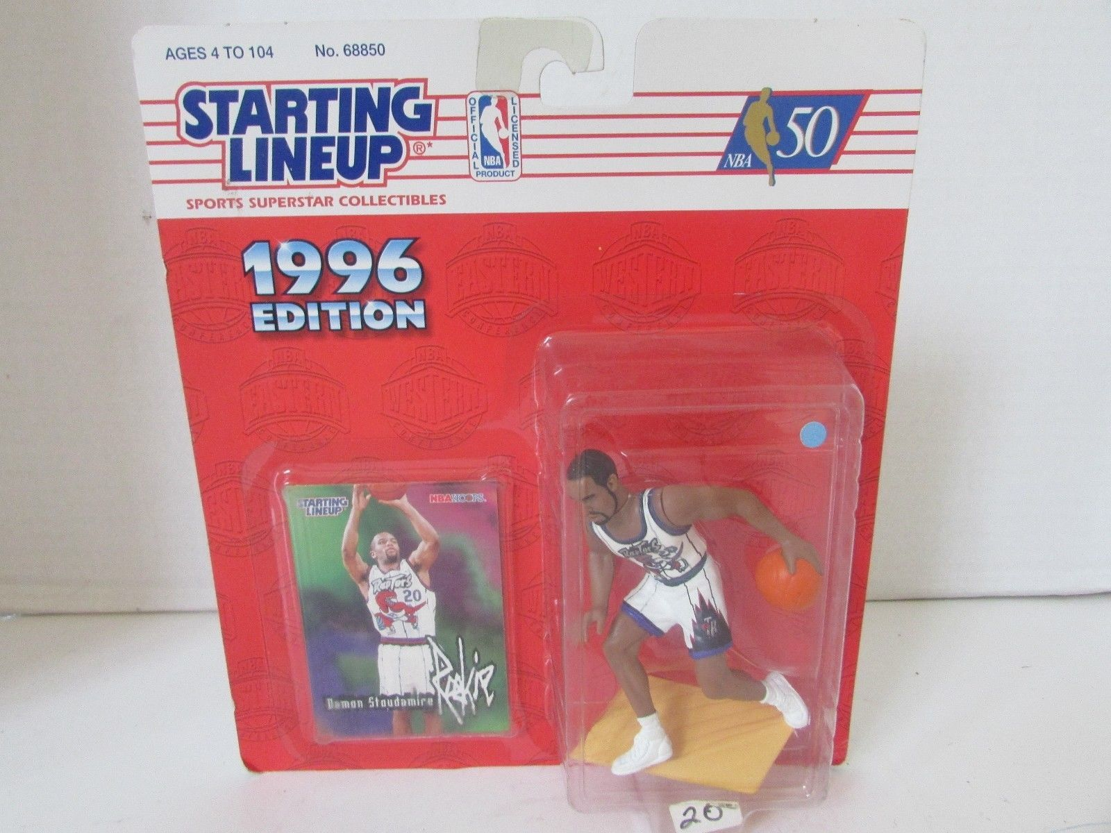 NBA KENNER 1996 DAMON STOUDAMIRE ROOKIE ACTION FIGURE BASKETBALL  L227