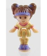 1994 Vintage Lot Polly Pocket Doll Drive-Thru Burger Restaurant Gillian ... - $7.50