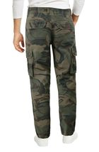 Men's Cotton Tactical Work Trousers Multi Pocket Military Army Cargo Pants image 15