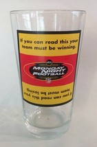 Monday Night Football Novelty 16 Ounce Clear Lager Glass - $7.00