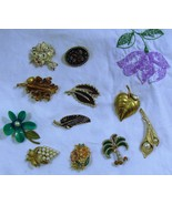 Floral Brooches and Pins  YOU CHOOSE - $2.50