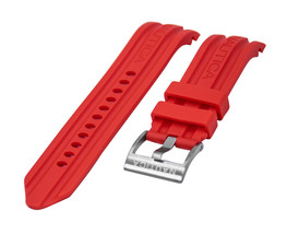 Nautica Unisex N15001G | A15001G BFD 100 Date 22mm Red Replacement Watch Band - $23.71