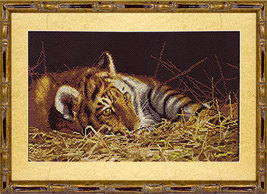 Cross Stitch Kit Panna Tiger Cub - $39.00