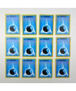 Lot Pokemon Trading Cards White Water Energy Blue Basic Deck Building 19... - $9.89