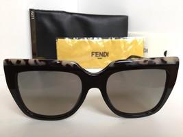 New FENDI FF 0087/S CU1DX 53mm Black Gray Women's Sunglasses - $149.99