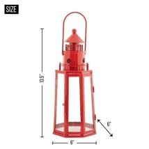 Red Lighthouse Lantern - $33.80