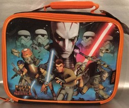 Disney's STAR WARS REBELS Thermos Insulated Lunch Box - Action Figure St... - $12.94