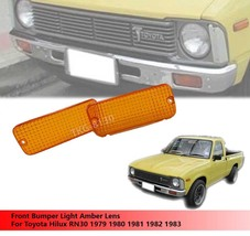 Toyota Hilux RN30 pickup1979-1981 front corner parking indicator lamp light lens