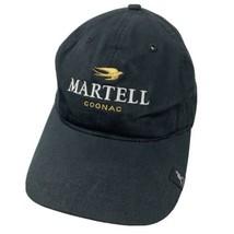 Martell Cognac Kangol Wine Spirits Black Adjustable Adult Ball Cap Hat - $24.74