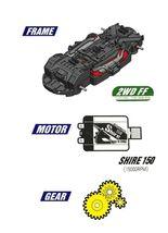 Bite Choicar Storm Borne Racing Mini Car Vehicle Toy image 4
