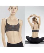 NATORI 32 B/C - 755147~Graphite Heather Print Zen Wireless Sports Yoga Bra - $21.85