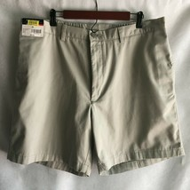 Roundtree & Yorke Easy Care Men's  Shorts Size 40 100% Cotton Pale Green... - $17.77