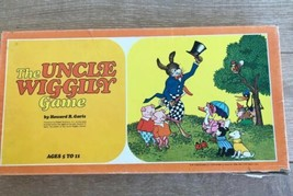 The Uncle Wiggily Board Game A Parker Game No. 160 Vintage 1971 - $27.71