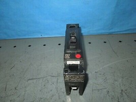 GE TED113020 Circuit Breaker 20A 1P 277V AC 125V DC Used  - $20.00