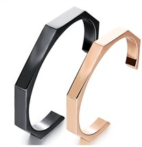 YOUWANG Stainless Steel Bangle Bracelets Cuff Bangle For Women Girls (Pink) - $77.87