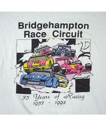 Bridgehampton Race Circuit 35 years of Racing 1957 - 1992 White T-Shirt ... - $99.99