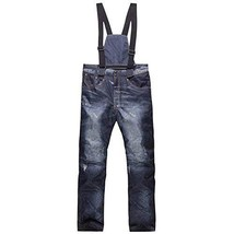 An item in the Sporting Goods category: E Support Denim Suspenders Ski Jeans Outdoors Waterproof Pants Ski Trousers Brea