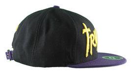 Trukfit Noir Hommes Violet Jaune Galaxy Baseball Casquette Chapeau T1208H09 Nwt image 5