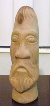 "Original Hand Carved ""Face of a Man"" Sculpture Butternut Wood Art Untitl... - $174.99"