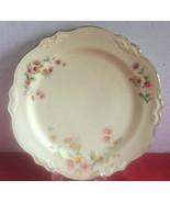 """Vintage Homer Laughlin Virginia Rose Plate 10""""-1956-22K Gold Trim - $3.50"""