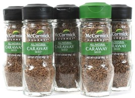 5 McCormick All Natural Caraway Seed Add Warm Biting Flavor Hearty Dishe... - $29.99