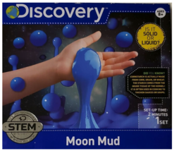 Discovery Make Moon Mud 1 Set Quick set Up Stem Authentic Product Ages 8+ NEW