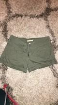 Abercrombie & Fitch Khaki Green Cargo Style Shorts 2 - $5.99