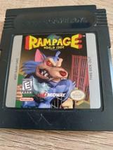 Nintendo GameBoy Rampage: World Tour image 1