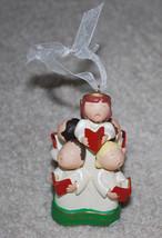 "Hallmark Hark The Herald Angels Sing Hymn Christmas Ornament Decoration 4"" - $13.32"