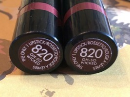 2X, Rimmel London The Only One Lipstick - 820 Oh-So Wicked - $13.81