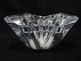 Crystal  Pillar Candle (3 Inch  Diameter Pillar ) Holder, Striking,  Geo... - $18.00