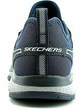 NEW Men's Skechers Burst Athletic Slip-On Memory Foam Shoes Black or Navy image 11